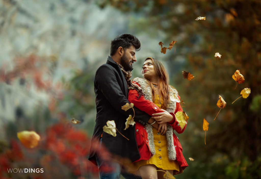 Mountain Pre-wedding Photography in Himachal