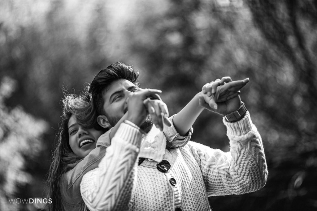 Mountain Pre-wedding Shoot in Himachal by subinoy Das