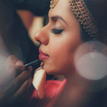 bride getting ready session for band baaja bride