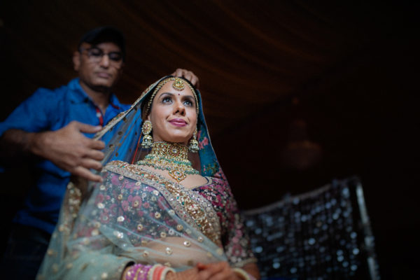 sabyasachi bride getting ready
