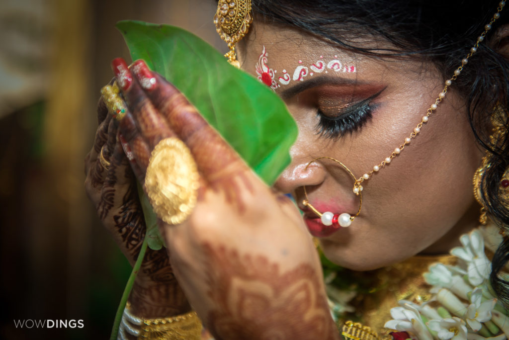 """The first look ""moment in the first Transgender Wedding in Kolkata"