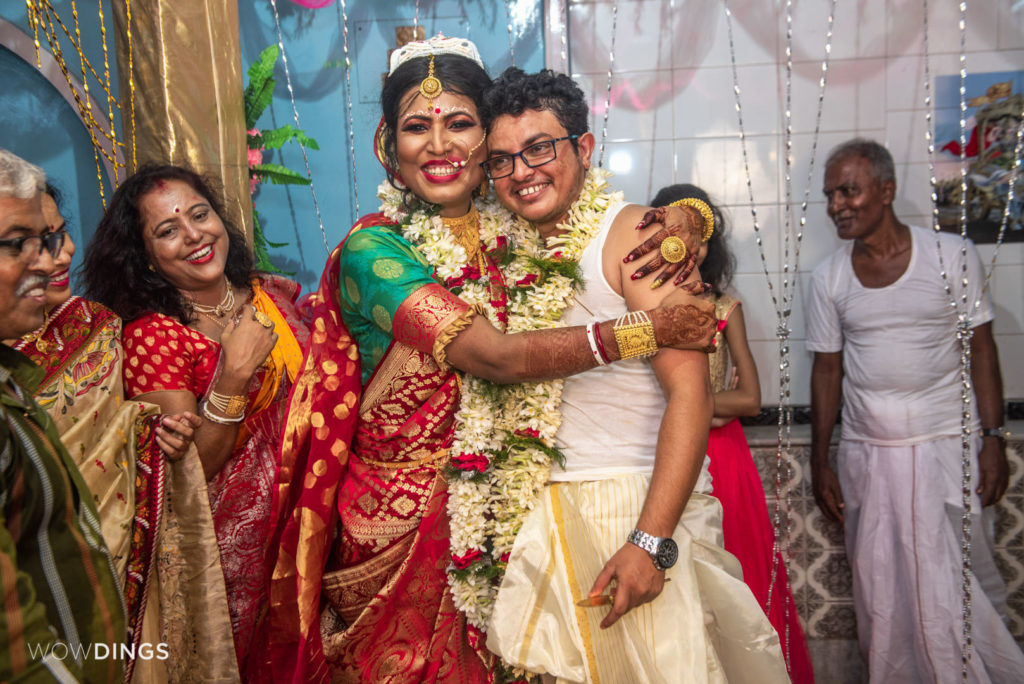 Tista & Dipan tied a knot in the first Transgender Wedding in Kolkata