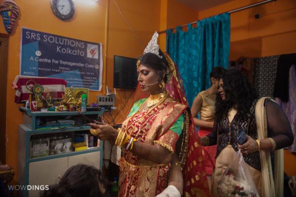 Transgender Wedding in Kolkata