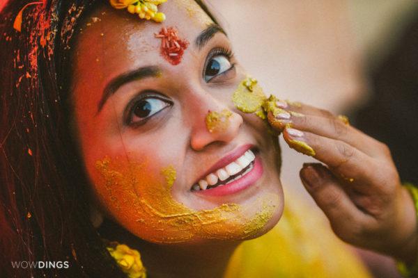 Garhwali haldi rituals in wedding