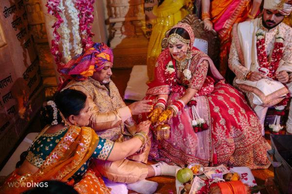 kanyadaan in garwali wedding