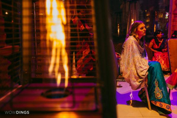 guests in garwali wedding