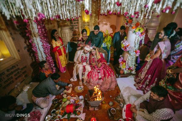 blessings in Garhwali wedding