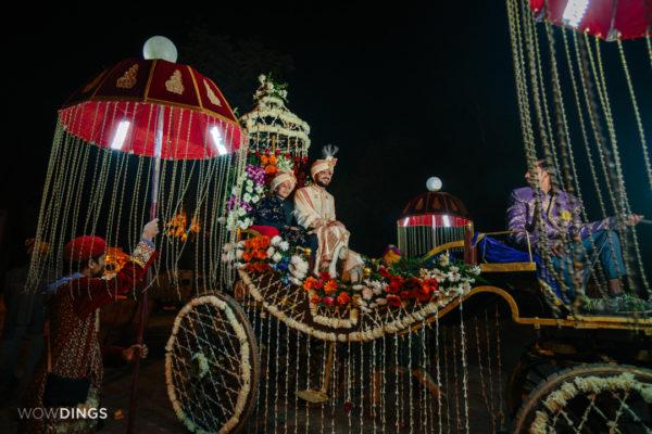 groom in garwali wedding