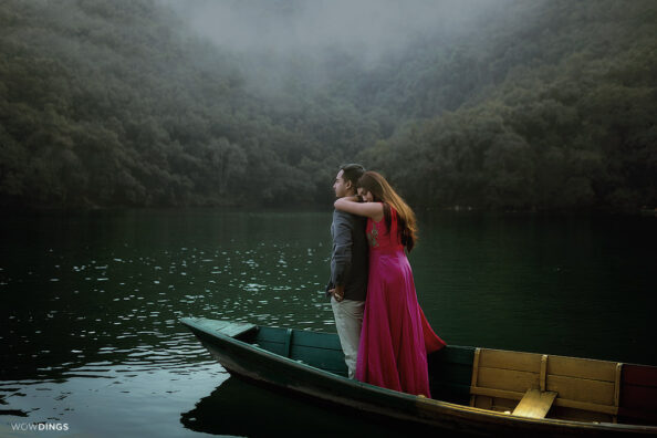 Destination pre-wedding in Nepal