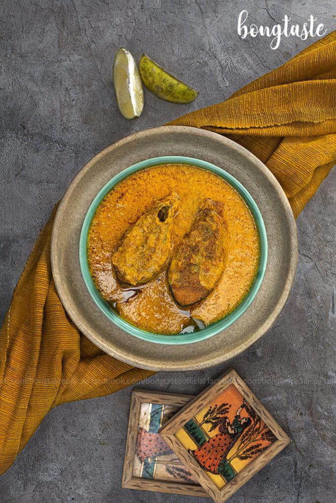 Thakurbarir Ilish bengali food bongtaste