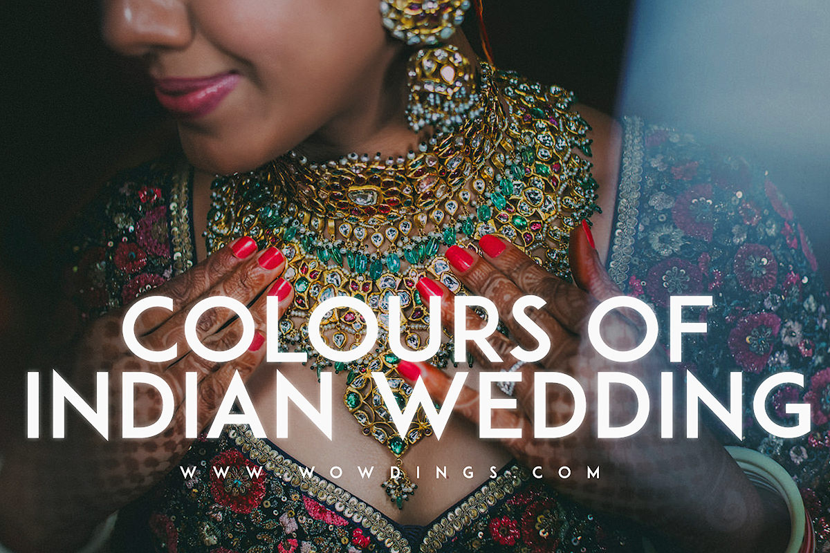 Colours of Indian Weddings cover image