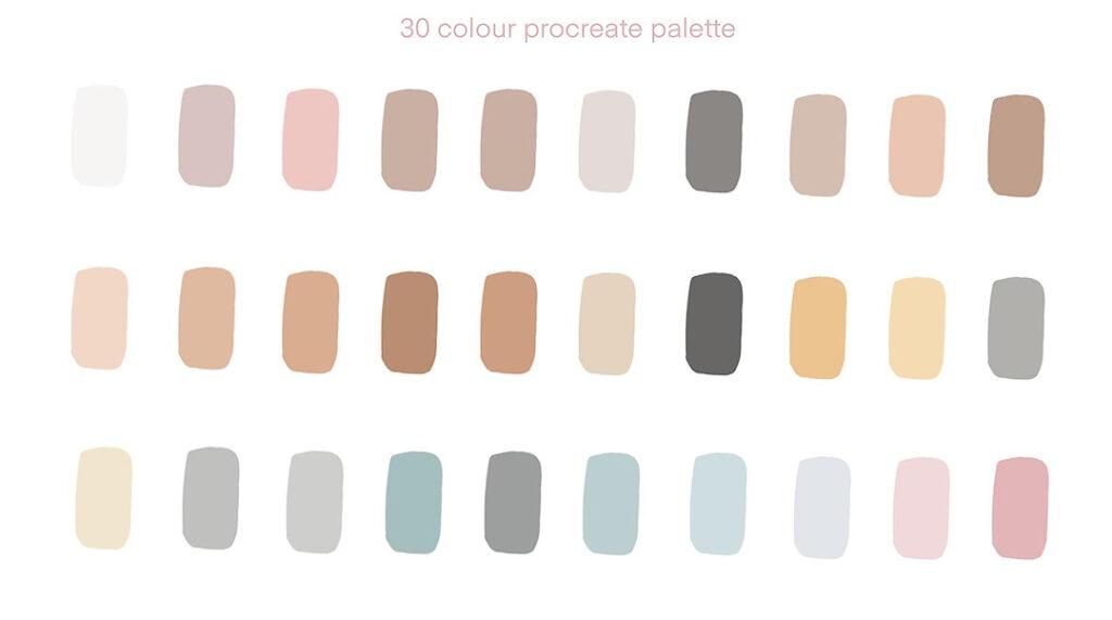 Colours of Indian Weddings - color palette
