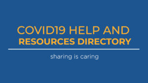 covid19 help and resources directory image