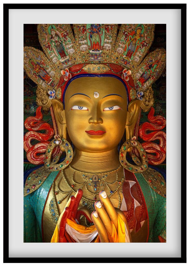lord buddha of sikkim monastery