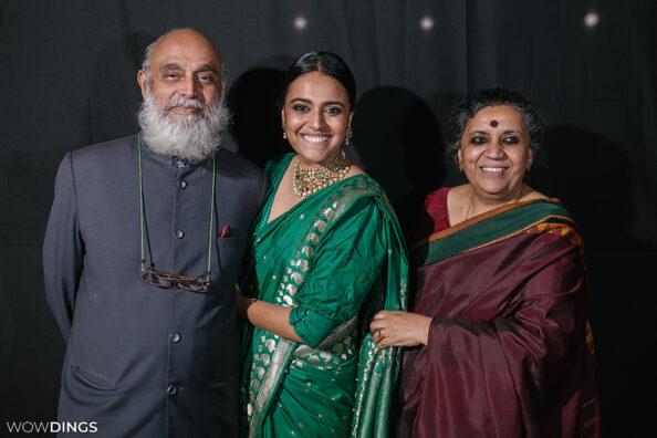 Swara Bhaskar & Family