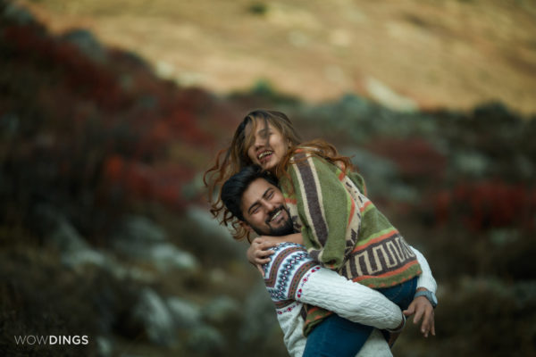 Destination Pre wedding Shoot in Himachal Pradesh