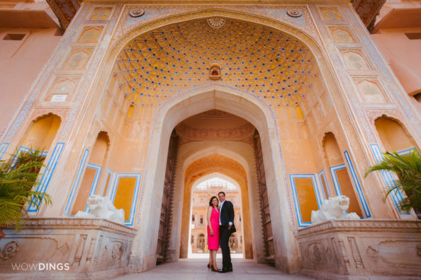 Destination Marriage at Chomu Palace