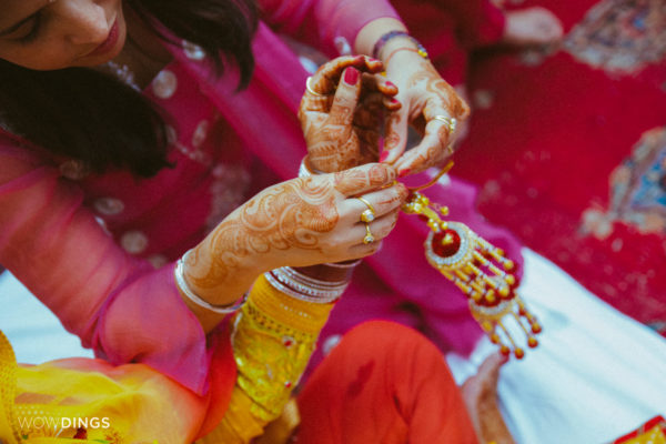 destination wedding photography by wowdings at chomu palace, jaipur