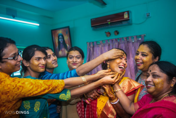 Haldi in Transgender Wedding in Kolkata
