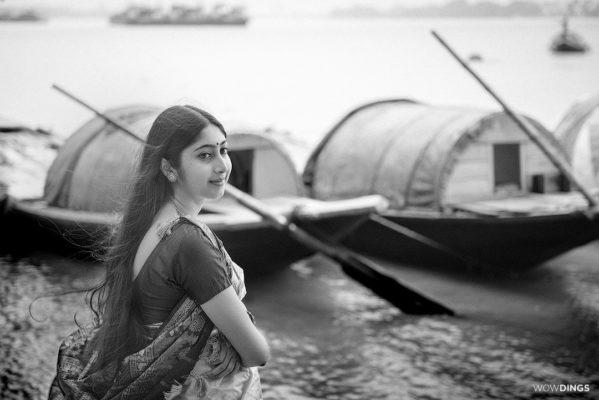 bengali girl in a saree