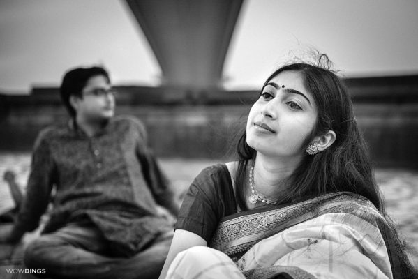 couple on the ganges in kolkata