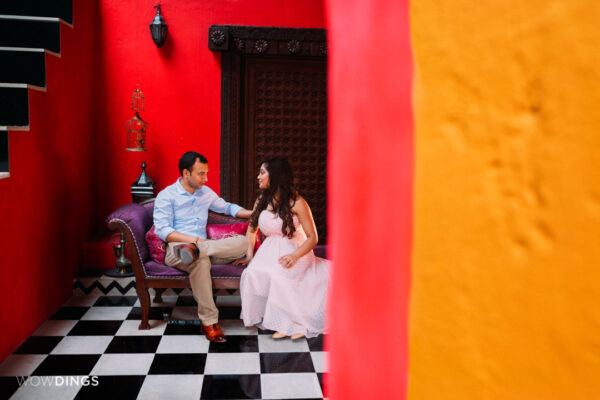 Pre wedding photography at perfect location
