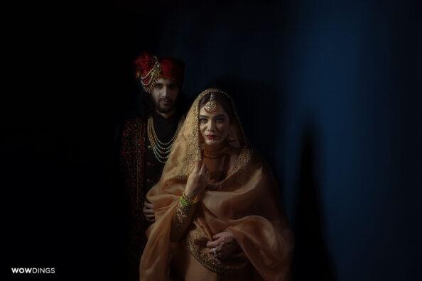 Intimate Muslim Wedding in Delhi